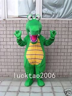 Lovely Crocodile Mascot Costume Cartoon Fancy Dress