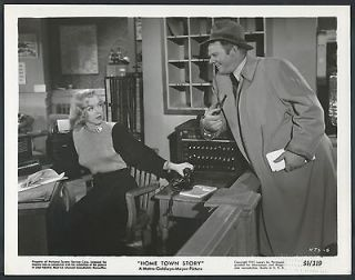 Marilyn Monroe Original 1951 MGM Photo Home Town Story Alan Hale Jr.