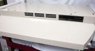 30in EXHAUST FAN/RANGE HOOD ALMOND MODEL 5337812 NEVER USED IN BOX