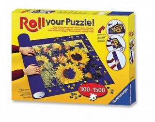 Roll Your Puzzle Roller Mat For 300 1500 Jigsaw Game Storage New Gift