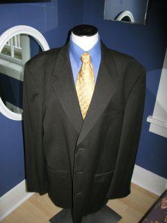 ALBERT NIPON Brown Nailhead Sport Coat. US 48XL. Nice (289)