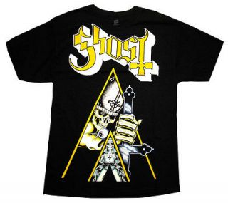 Ghost Clockwork Orange Rock Band Adult T Shirt Tee