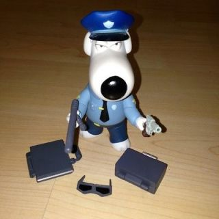 FIGURE BRIAN AS McGriffin POLICE MAN (SIMPSONS. AMERICAN DAD) FOX 06