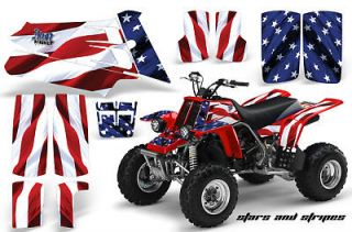 AMR RACING ATV QUAD YAMAHA BANSHEE GRAPHICS KIT STICKERS 350   FREE