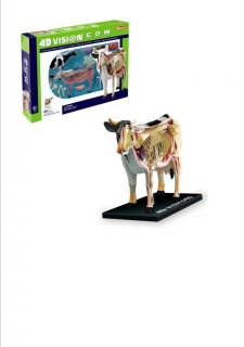 COW ANATOMY MODEL/PUZZLE,4 D Vision Kit #26100 TEDCO SCIENCE TOYS