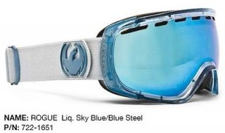 Rogue Mirror Lens Mens Ski Snowboard Goggles YOU PICK COLOR Msrp$150