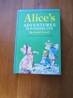 Alices Adventures in Wonderland by Lewis Carroll HC (1985)