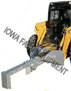 Wallenstein WX430 25Ton Horizontal Inverted Skid Steer Log Splitter
