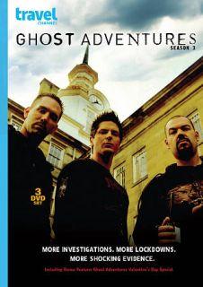 Ghost Adventures Season 3 DVD