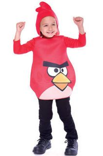 Angry Birds Red Bird Toddler Costume (2T) Size2T