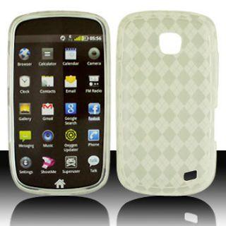 Talk Samsung Galaxy Proclaim SCH S720C CLEAR TPU Gel Phone Case Cover