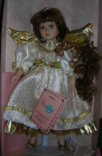 Doll Collection Porcelain Special Edition 1997 Angel Hand Painted
