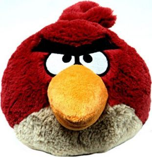 Angry Birds 16 Inch Big Soft Deluxe Plush With Sound (Red Bird)