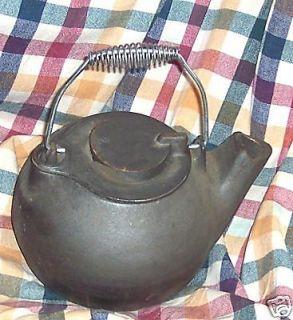 antique cast iron tea kettle in Tea Kettles