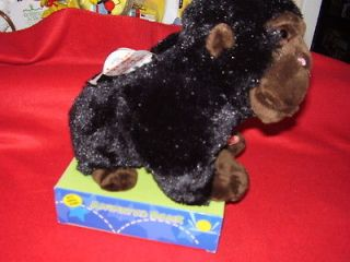 ANIMATED PLUSH GORILLA BANK WITH ANIMAL SOUNDS NEW IN BOX