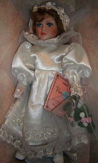 VANESSA Doll Collection Porcelain Doll Special edition SERIE 1996 hand