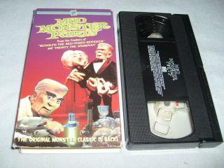 Mad Monster Party (VHS, 1967)   BORIS KARLOFF