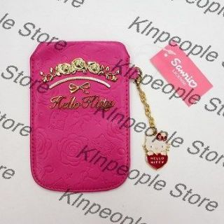 Hello Kitty iphone 4 ipod touch Cell Phone Case Pouch Bag Rose Pink