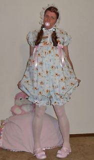 Annemarie Adult Sissy Baby Romper Dress Up Bubble Pooh