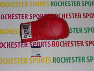 ROBERTO DURAN auto signed Everlast Leather Right Boxing Glove PSA #