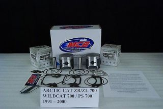 Arctic Cat ZR700 Wildcat 700 Mountian Cat 700 piston kit complete