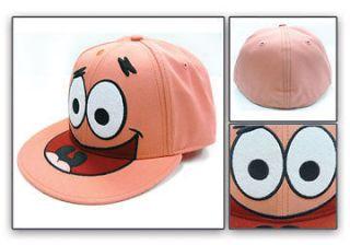 SpongeBob Patrick Face Smile Pink Baseball Cap Licensed Hat