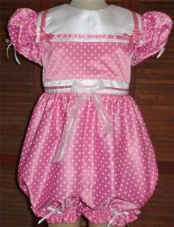 Annemarie Adul t Sissy Baby Dress Up Romper  Dottie Bubble
