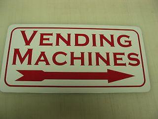 VENDING MACHINES Metal Sign Vintage Style Coke or Pepsi