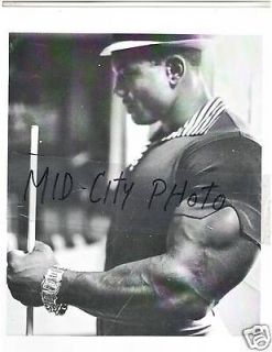 SERGIO OLIVA Mr Olympia Bodybuilding Muscle Photo B+W