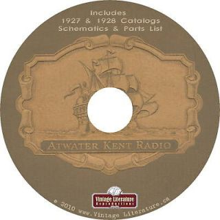 antique radio atwater kent