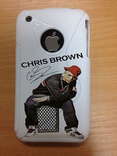 CHRIS BROWN MOBILE CELL PHONE CASE SHELL TO FIT APPLE IPHONE 3/3GSS