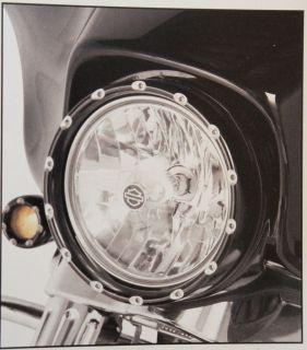 ARLEN NESS BLACK FIRE RING LED HEADLIGHT BEZEL W/ RUNNING LIGHTS 4