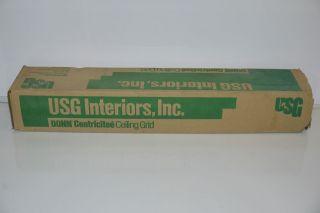 75pk usg interiors donn dxt 218 centricitee ceiling grid cross tee 150