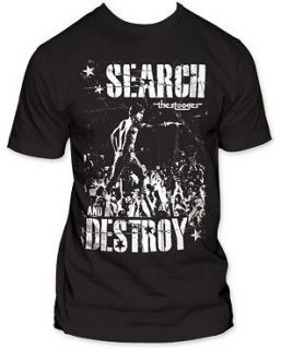 IGGY POP AND THE STOOGES search and destroy Soft Fit T SHIRT S M L XL