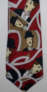Charlie Chaplin in Bowler Hat Tie Silent Movie Star Comic Actor