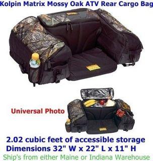 Kolpin Matrix Mossy Oak ATV Rear Cargo Bag