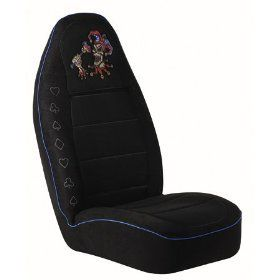 Auto Expressions Black Universal Evil Jester Bucket Seat Cover