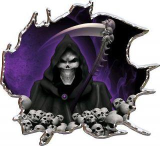 grim reaper car decals