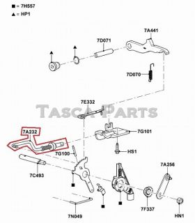 BRAND NEW OEM TRANSMISSION RANGE SENSOR ROD 2011 13 FORD F250 F350