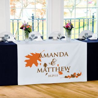 wedding table runners in Napkins, Tablecloths & Plates