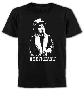 Captain Beefheart T Shirt   Avant Garde Rock Icon   All Sizes
