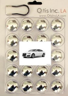 99 9712 C A7 CHROME lug bolt covers for AUDI A7 wheels FREE SHIPPING