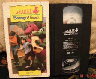 Time Life Collection HOP TO IT Very RARE Vhs Video #11 OOP HTF