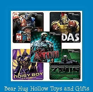 15 Real Steel Movie Atom Zeus Noisy Boy Midas Metro Robots Stickers