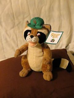 PLUSH NATIONAL WILDLIFE FEDERATION RANGER RICK RACCOON   9