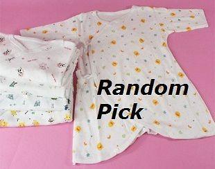 One piece NWT Newborn Baby Long Sleeve Underwear Cotton Clothes Romper