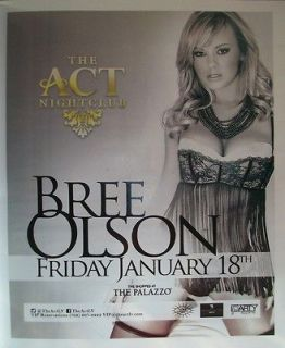 Bree Olson AVN Awards 2013 Party Las Vegas Ad Nice Small Poster