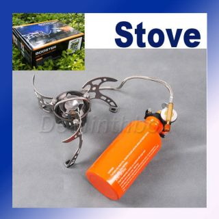 Outdoor Camping Stove Multi Fuel Backpacking Cookware