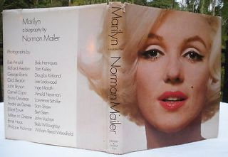 Marilyn  A Biography by Norman Mailer (1973, Hardcover) First