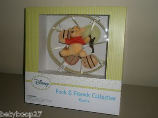 Baby Green Winnie The Pooh & Friends Collection Nursery Crib Mobile
